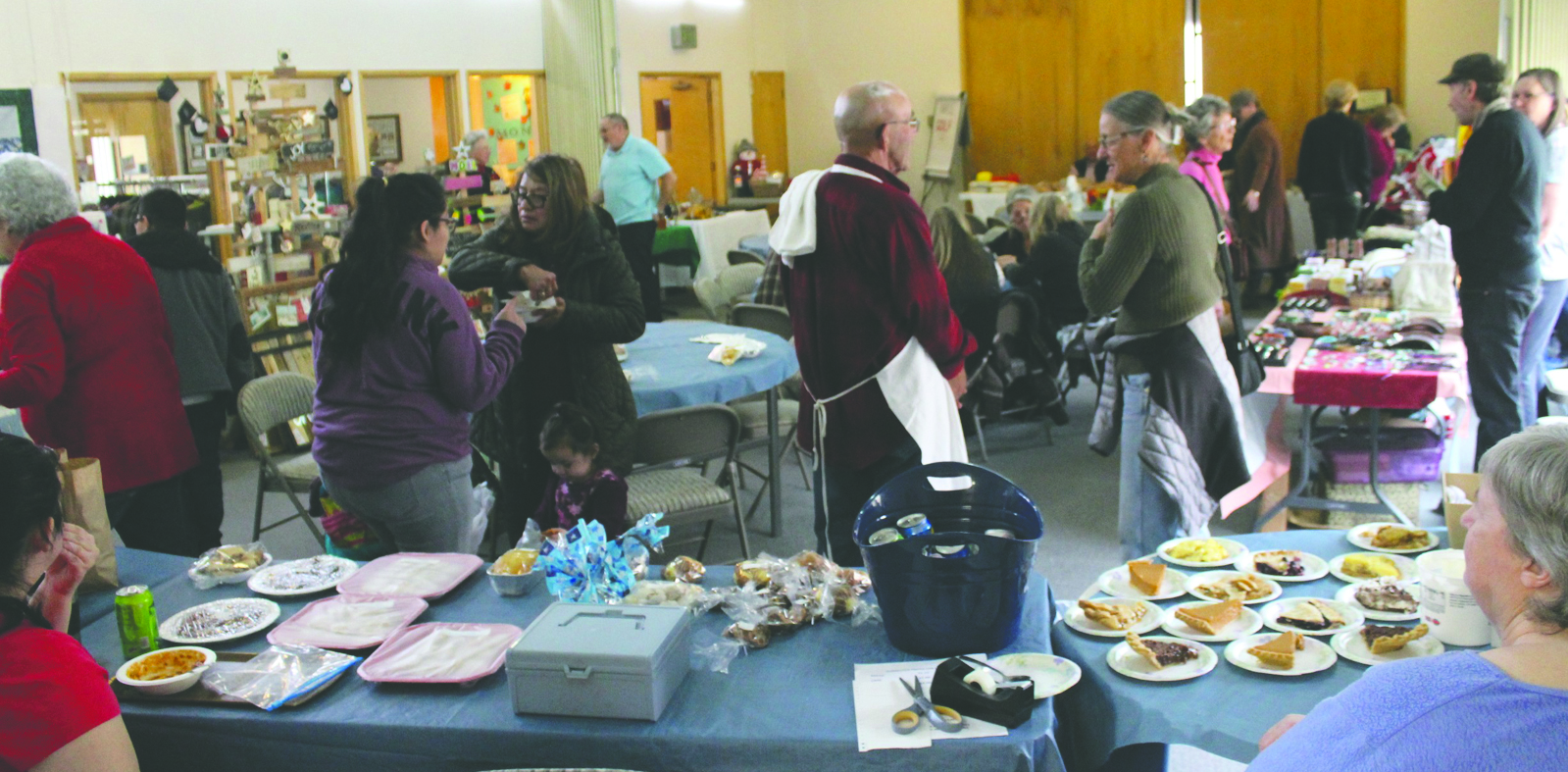 The annual Pateros Holiday Bazaar was held from 10 a.m. to 2 p.m., Saturday, Nov. 4., at the United Methodist Church. Lots of craft items and good food made the event a must-stop for many area residents.